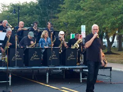 Tony sings in Belmar NJ
