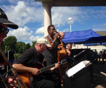 Carrie Jackson sings, David O'Rourke- guitar