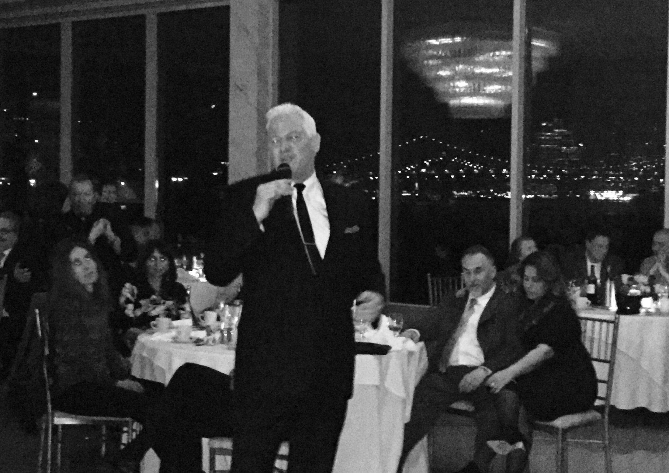 Tony Corrao at Dinner Club