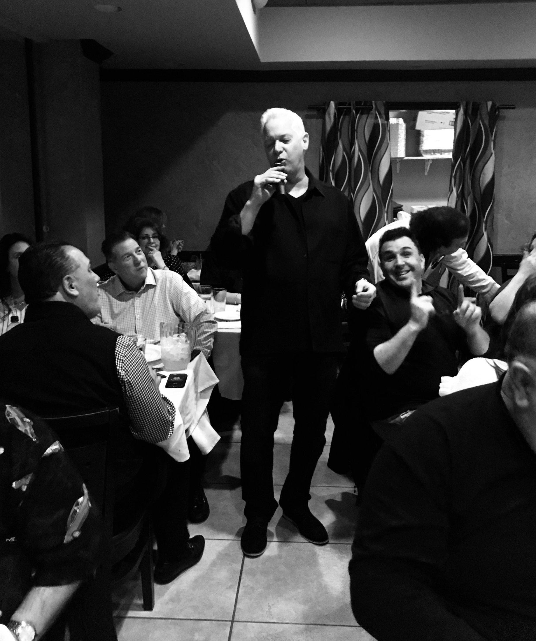 Tony Corrao at Supper Club