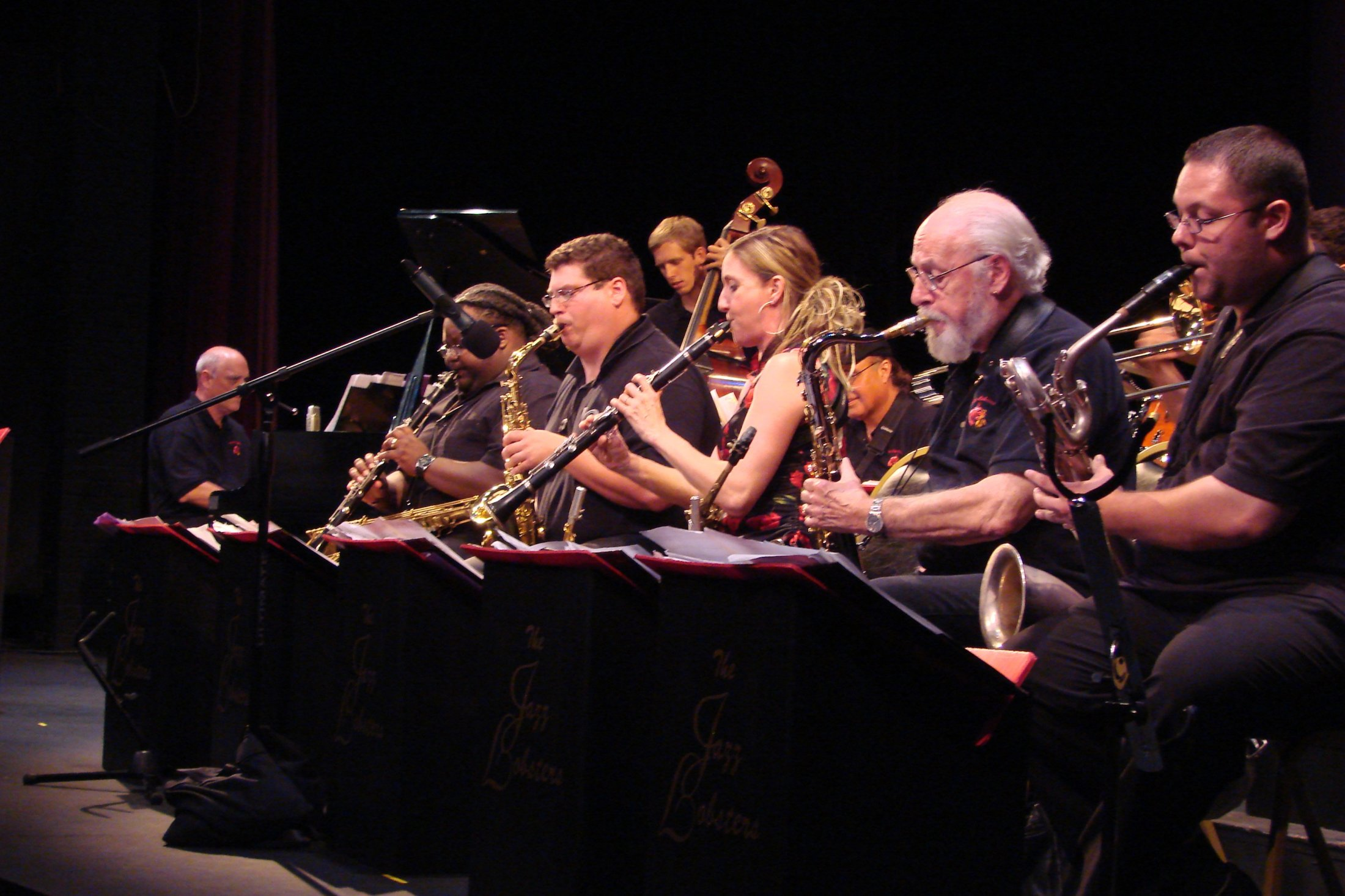 Reed Section at Bickford Theatre, Morristown, NJ