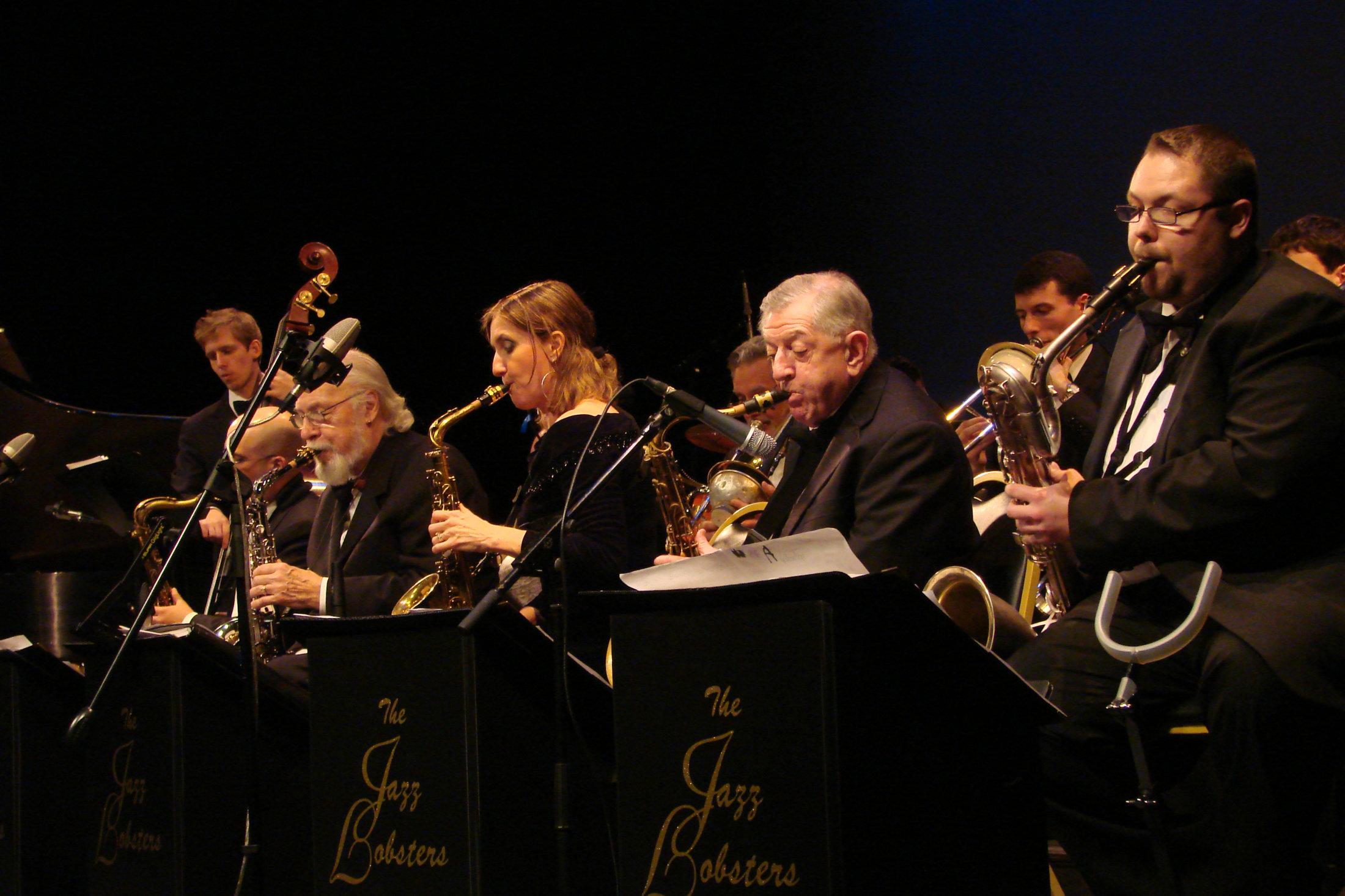 Sax Section w/ Larry McKenna